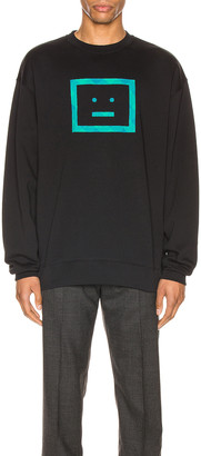 Acne Studios Sweatshirt in Black | FWRD