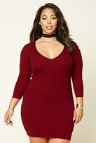 Forever 21 FOREVER 21+ Plus Size Bodycon Dress