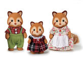 International Playthings Calico Critters Red Panda Family