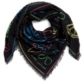 Marc by Marc Jacobs Neon Lights Wool Shawl