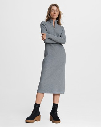 Rag & Bone Laila zip midi dress