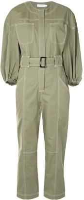 Jonathan Simkhai Annika puff-sleeve jumpsuit
