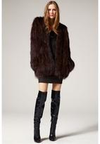 L'Agence Fur Jacket