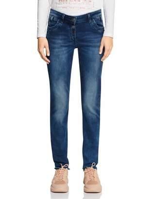 Cecil Women's 372630 Scarlett Straight Jeans