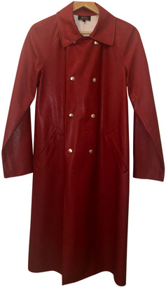 A.P.C. Red Synthetic Coats