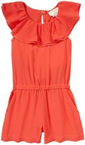 Kate Spade Avery Romper (Toddler/Kid) - Geranium-2T