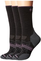 Smartwool PhD Outdoor Light Crew 3-Pack Women's Crew Cut Socks Shoes