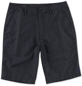 O'Neill Men's Leer Classic-Fit Stretch Windowpane Shorts