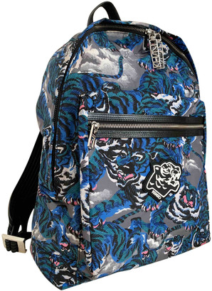 Kenzo Blue Polyester Bags