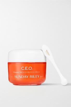 Sunday Riley C.e.o. Vitamin C Rich Hydration Cream, 50g