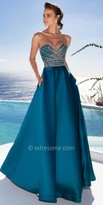 Tarik Ediz Monroe Evening Dress