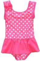 BeautyIn Kids Swim Suit Baby Girls Cute Dots All in One Swimwear 6-9 months