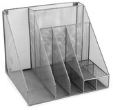 Design Ideas Silver Mesh Desk Organizer
