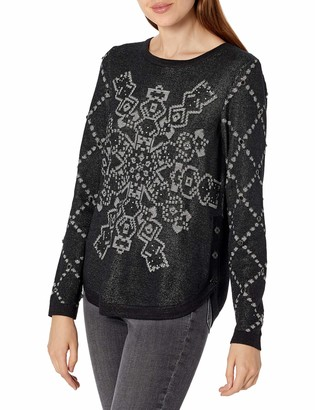 Desigual Women's JERS_Budapest Pullover Sweater