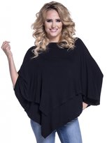 Happy Mama Boutique Happy Mama. Womens Maternity Nursing Double Layer Poncho Thin Knitwear. 441p (