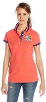U.S. Polo Assn. U.S. Polo Shirt Assn. Juniors' Patch and Embroidery Embellished Polo Shirt