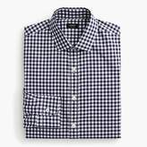 J.Crew Ludlow Slim-fit spread-collar shirt in navy gingham