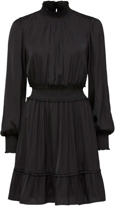 Ever New Jessica Long Sleeve Smock Dress