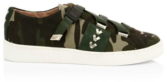 Jack Rogers Warner Camo Canvas Sneakers