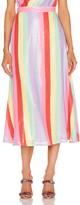 Olivia Rubin Penelope Skirt in Fall Stripe   FWRD