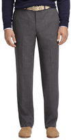 Brooks Brothers Fitzgerald Fit Plain-Front BrooksCool® Houndstooth Dress Trousers