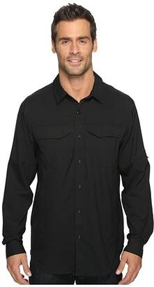 Columbia Silver Ridge Litetm Long Sleeve Shirt (Black) Men's Long Sleeve Button Up