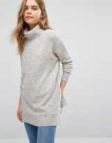 Warehouse Boxy Stretch Mohair Sweater