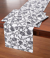 Southern Living Vine Floral Cotton Table Linens