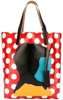 Marni Ekta print shopper tote - women - PVC - One Size