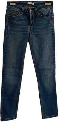 Liu Jo Liu.jo Blue Cotton - elasthane Jeans for Women