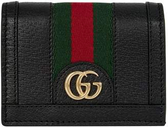 Gucci Leather Ophidia Card Holder