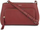 DKNY Greenwich smooth leather cross-body bag