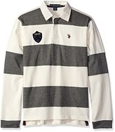 U.S. Polo Assn. Men's Heavy Weight Jersey Classic Rugby Shirt