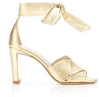 Marion Parke Leah | Metallic Ankle Tie Sandal