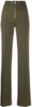 No.21 High Waist Flared Trousers