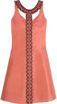 Beaded silk dress