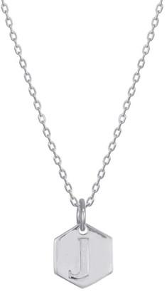 Stella + Ruby Monogram Initial Pendant Necklace