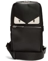 Fendi Bag Bugs leather-panelled nylon cross-body bag