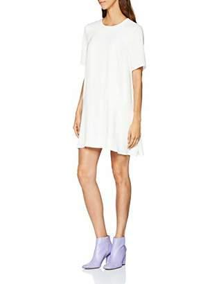 Great Plains Women's Elegant Peplum Plain Short Sleeve Dress,(Manufacturer Size: M)