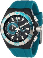 Technomarine Men's 112010 Cruise Locker Nylon Strap with Key Ring Dial Watch