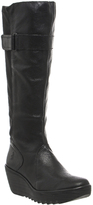 Fly London Yash Wedge Knee Boots