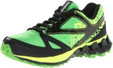 Reebok Zigkick Trail 1.0 Youth US 3 Green Running Shoe