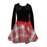 Bonnie Jean Long Sleeve Fit & Flare Dress Plus - Big Kid