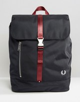 Fred Perry Contrast Backpack in Navy
