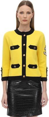 Gucci Silk & Cotton Milano Cardigan