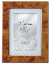 Lawrence Frames Faux Burl 8 by 10-Inch Picture Frame, Natural