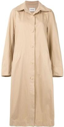 Henrik Vibskov Button-Up Trench Coat