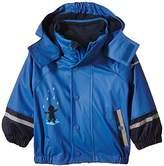 Sterntaler Unisex Baby Removable Inner Jacket Cape Short Sleeve Raincoat,One Size (Manufacturer Size:104)