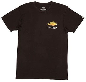 Salty Crew Pargo Premium Short Sleeve Tee (Black) Men's Clothing