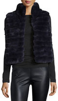 Trilogy Sleeveless Rabbit Fur Vest